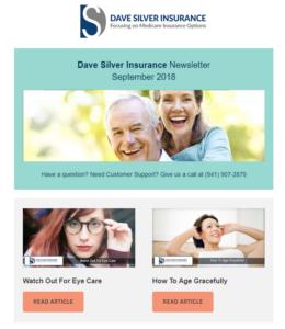 Dave Silver Insurance Agency Newsletter - September 2018